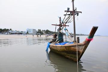 タイ フアヒン 船