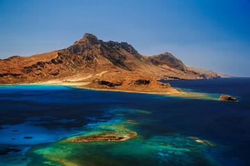 Crete from Gramvousa island