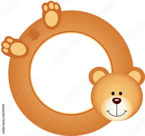Teddy bear frame\