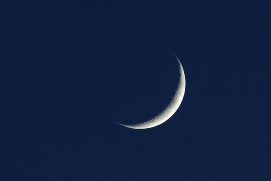 Zunehmender, Mond, Mondsichel;