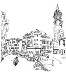 Venice. Campo S.Maria Formosa