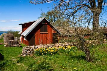 Countryside garden