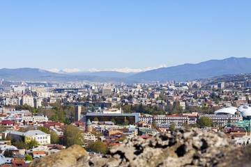 View from Narikala, Tbilisi, Georgia