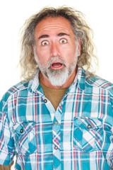 Surprised Man with Beard