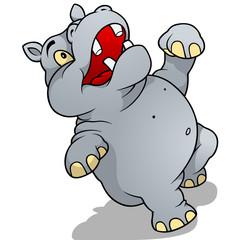 Dancing Hippo