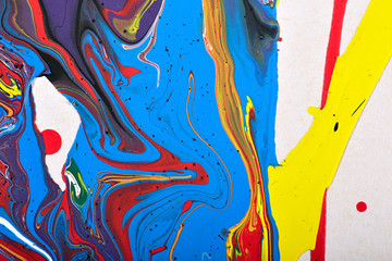 Abstract background. Hand painted.