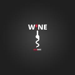 wine cellar bottle concept design background