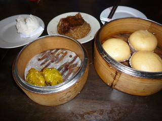 Chinese bun and dumpling