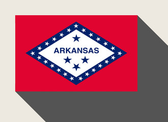 American State of Arkansas flag