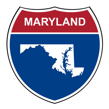 Maryland interstate highway shield