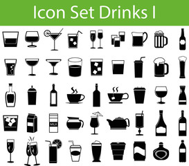 Icon Set Drinks I
