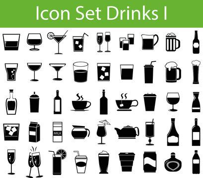Icon Set Drinks I