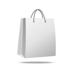 Shopping Promo Bag on white background