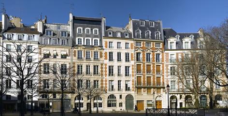 Canvas Prints Art Studio View of Place Dauphine in Paris