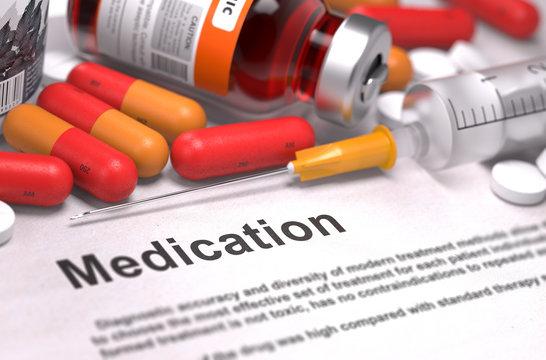 Medication - Medical Concept.