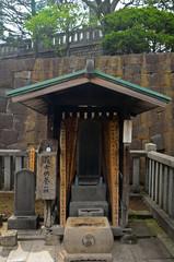 Sengaku temple, Tokyo, Japan