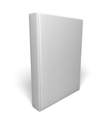 Book. 3D. Blank White Book