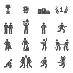 Competition Icons Black