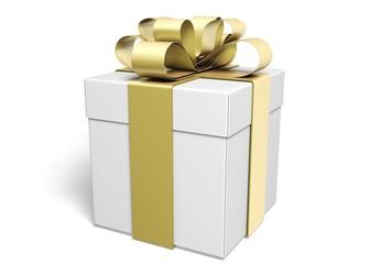 Gift. 3D. Gift box