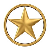 star 3d gold star isolated on white stock photo and royalty