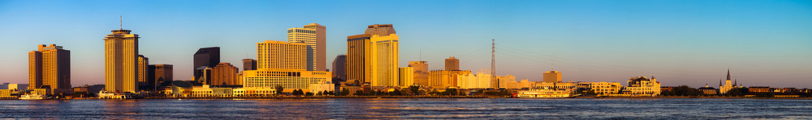 New Orleans Skyline, Panoramic