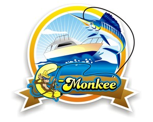 fishing logo image vector