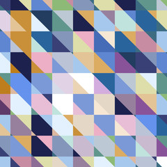 Abstract geometric vector varicolored background.