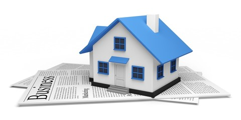 House. 3D. Real Estate News