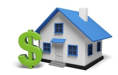 House. 3D. House Price