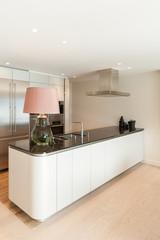 Interior, beautiful modern kitchen