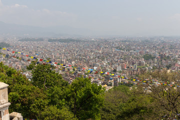 View of the Kathmandu