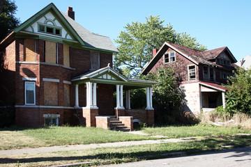 Abandoned family homes