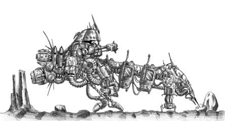 Spaceship art drawing sketch illustration