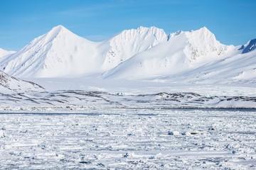Winter in the Arctic - Svalbard Fototapete