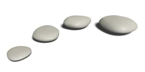 Stone. 3D. Spa Stones
