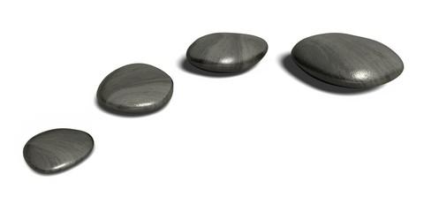 Stone. 3D. Wellness