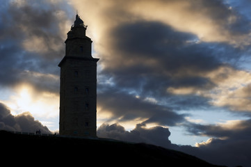 Tower of Hercules World Heritage Site roman lighthouse