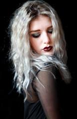 The blonde goth