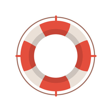 lifeguard icon illustration