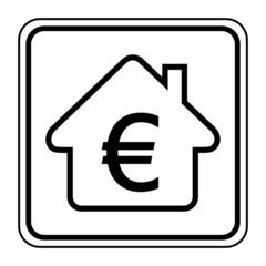 Logo maison et budget.