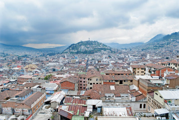 Quito - The outlook from Metropolitan Cathedral