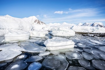 Winter in the Arctic - Spitsbergen