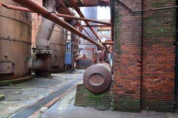 Sloss furnaces in Birmingham, Alabama