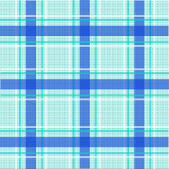 Checkered tablecloth seamless pattern.