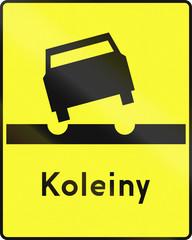 Ruts In Poland