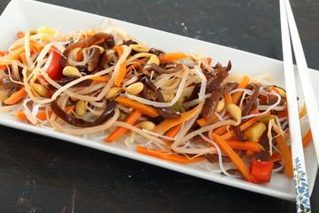 insalata  verdure asiatica