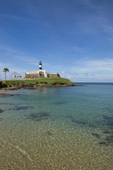 Salvador Brazil Farol da Barra Lighthouse Beach