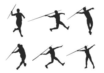 Javelin Sport Silhouette