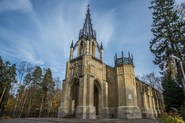 The Gothic temple
