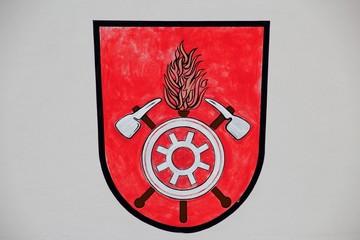 zeichen für feuerwehrhaus
